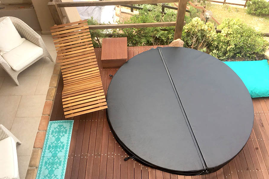 Hot tub cover Beauty Luxury BL-AHT001