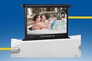 "17"" pop-up TV Beauty Luxury"