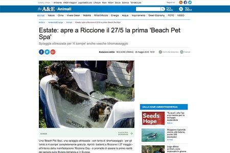 ANSA Ambiente - pet spa 06/05/2016