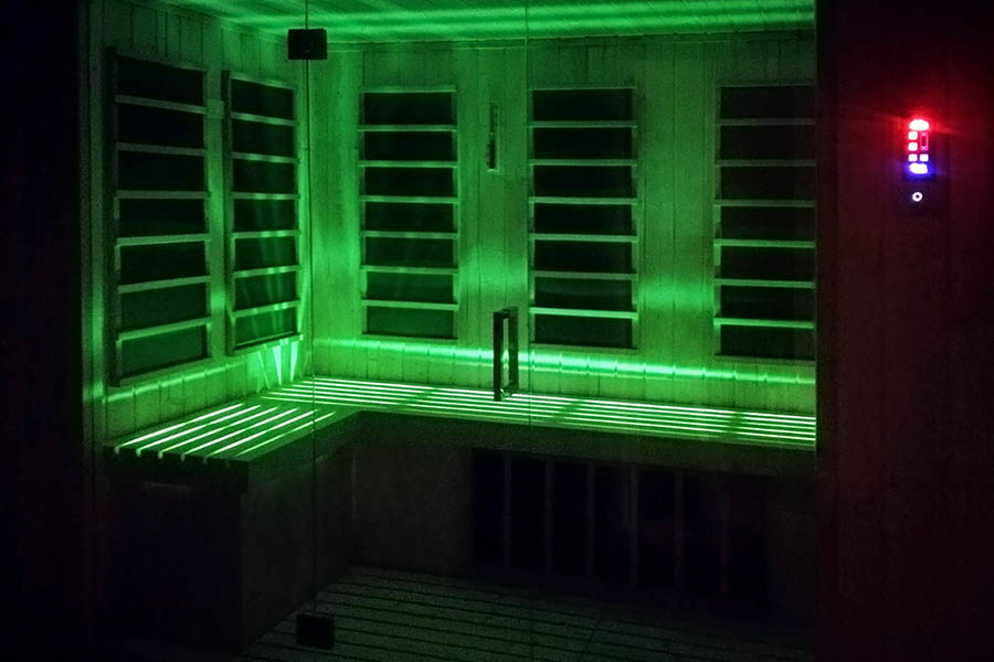 Taylor made infrared sauna Beauty Luxury BL-SISM