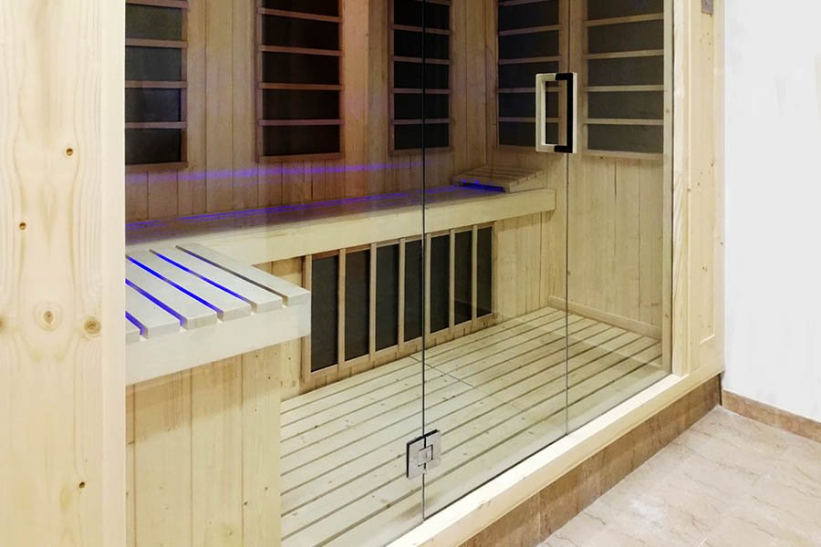 Taylor made infrared sauna Beauty Luxury