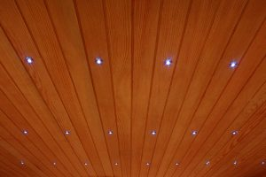"Chromotherapy ""starry sky"" effect Finnish saunas Beauty Luxury"