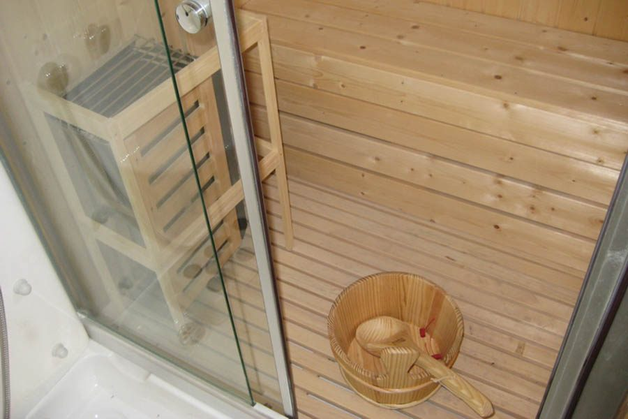 Finnish sauna with multifunction shower BL-612
