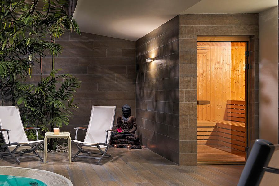 Sauna finlandese su misura Beauty Luxury