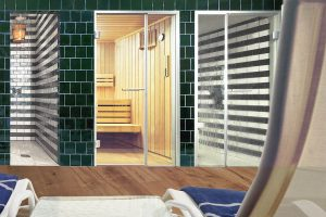 Taylor made Finnish sauna Beauty Luxury