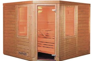 Sauna finlandese BL-120 Beauty Luxury
